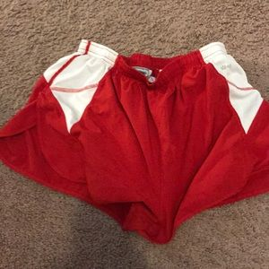 """Eastbay 2"""" inseam running shorts with liner"""